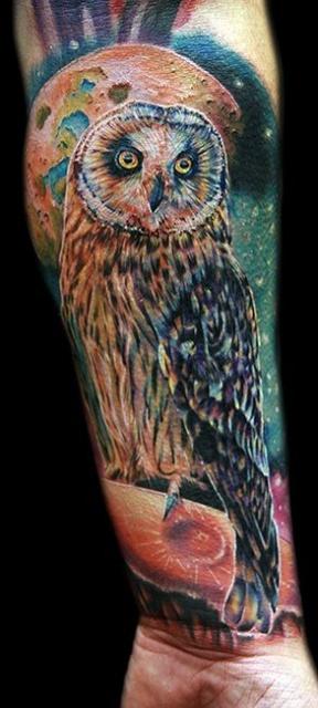 Татуировки совы (3)