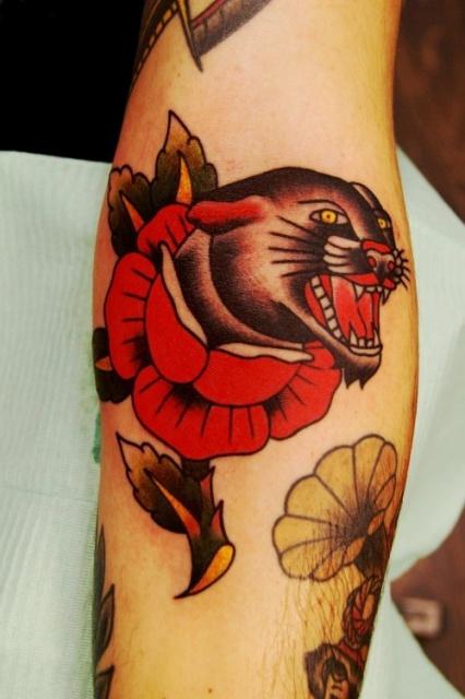 Татуировки дикой кошки (5)