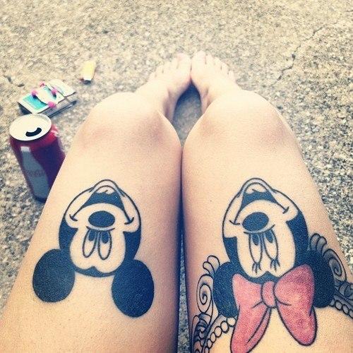 Женские татуированные ноги (1)