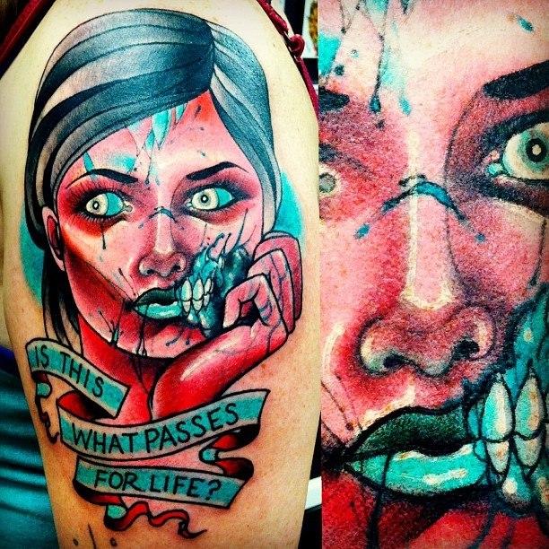 Татуировки зомби (6)