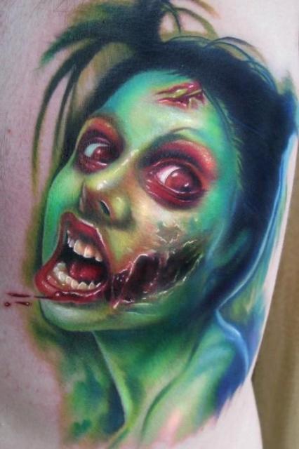 Татуировки зомби (2)