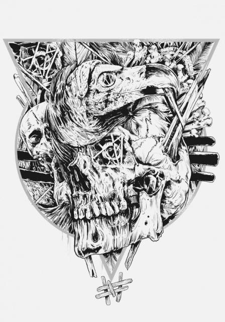эскиз череп (7)