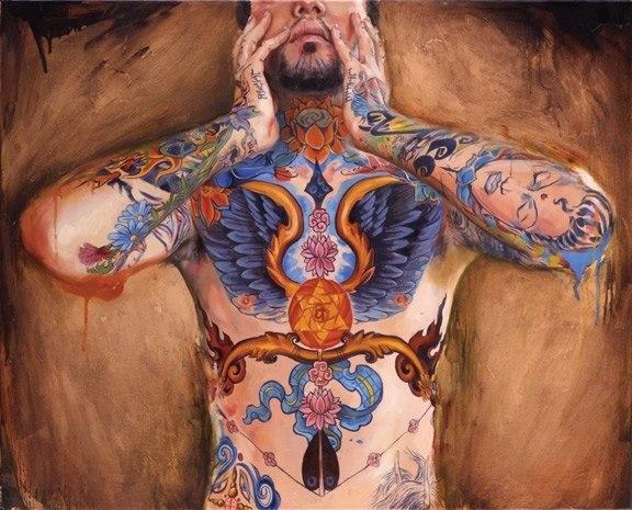 татуированные люди (5)