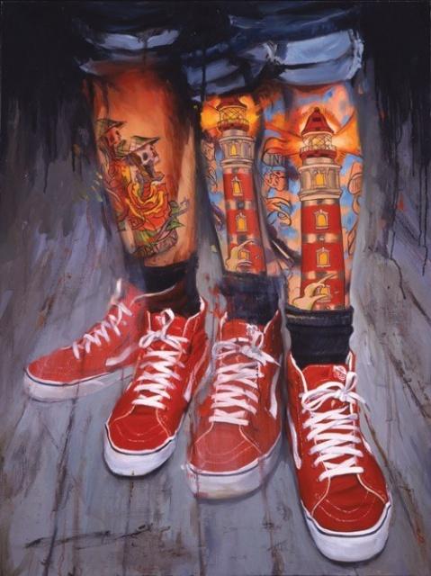 татуированные люди (2)