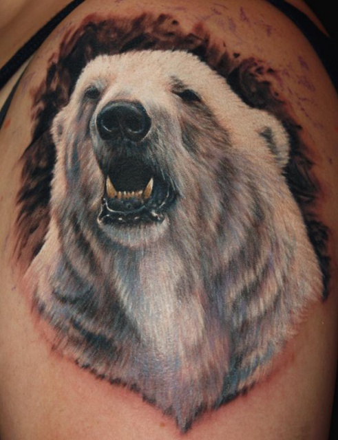 тату медведь (1)