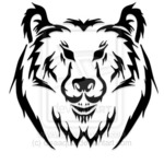 тату медведь (12)