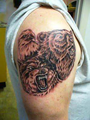 тату медведь (11)