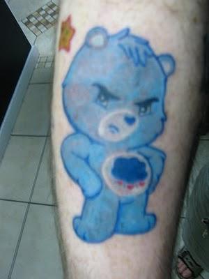 тату медведь (8)