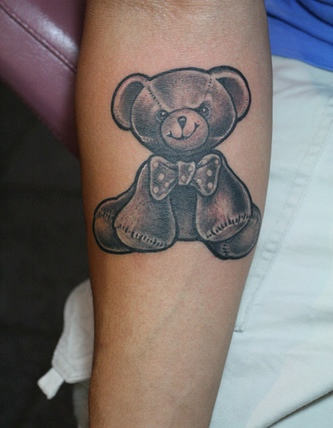 тату медведь (6)