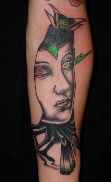 Татуировки-птицы (1)
