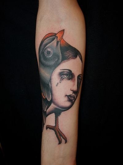 Татуировки-птицы (3)