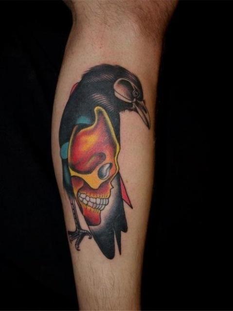 Татуировки-птицы (4)