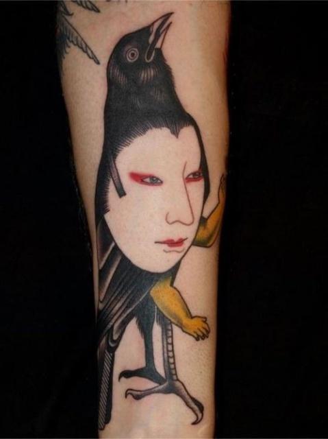 Татуировки-птицы (6)