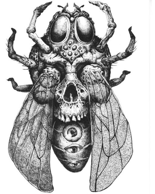 Идеи эскизов черепов Tommy Surya (5)