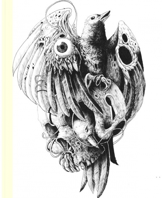 Идеи эскизов черепов Tommy Surya (3)
