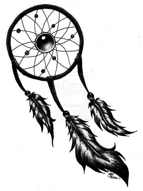 Эскизы ловец снов (5)