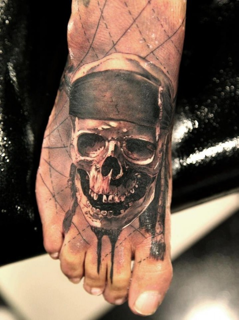 Татуировки на ступнях (1)