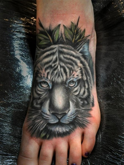 Татуировки на ступнях (3)
