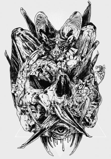 эскиз череп (6)