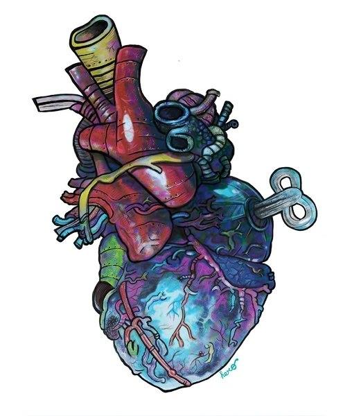 Эскизы сердца (5)