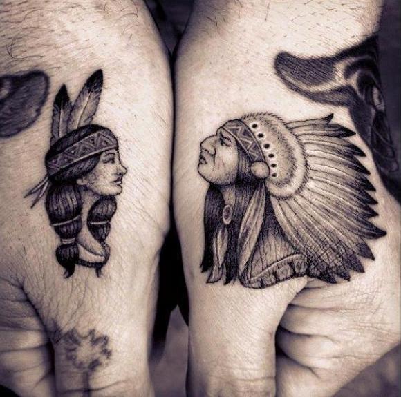 Татуировки индейцев (1)