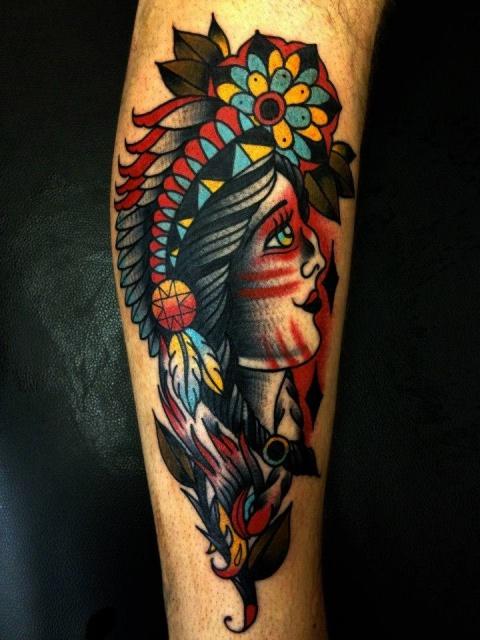 Татуировки индейцев (2)