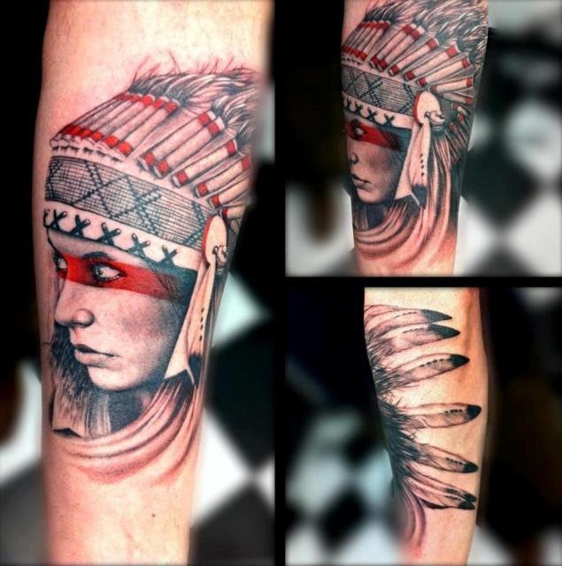 Татуировки индейцев (3)
