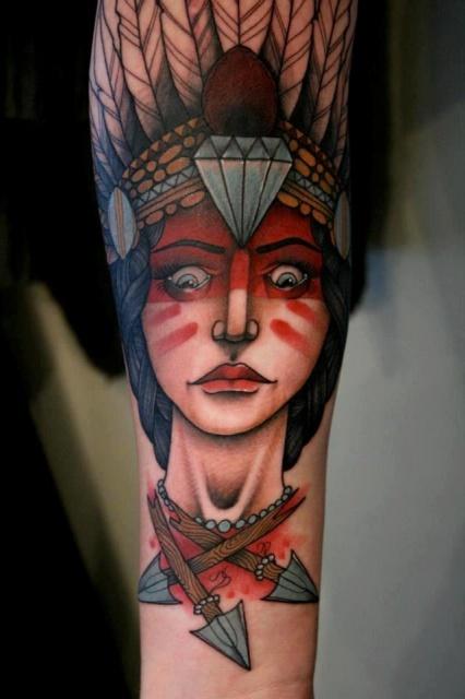 Татуировки индейцев (4)