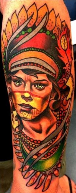 Татуировки индейцев (5)