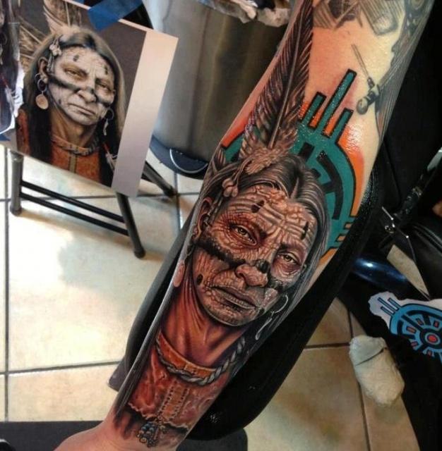 Татуировки индейцев (6)