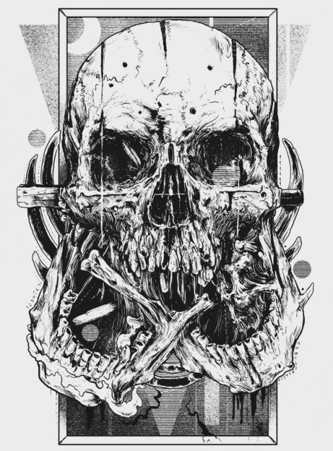 эскиз череп (4)