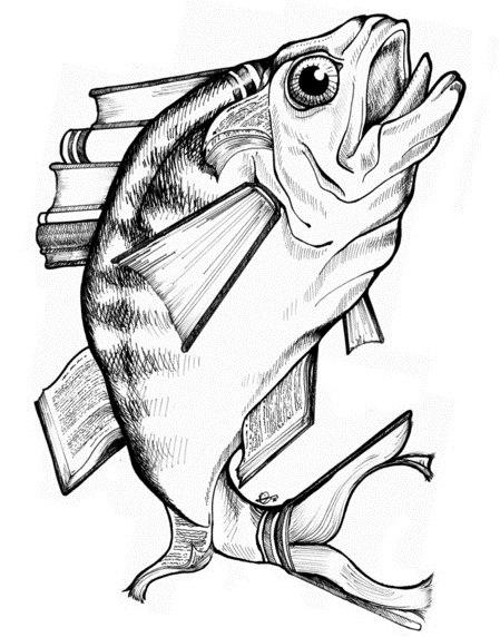Эскизы рыбы (4)