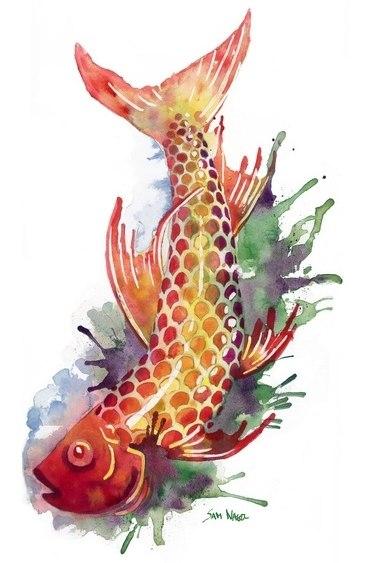 Эскизы рыбы (3)