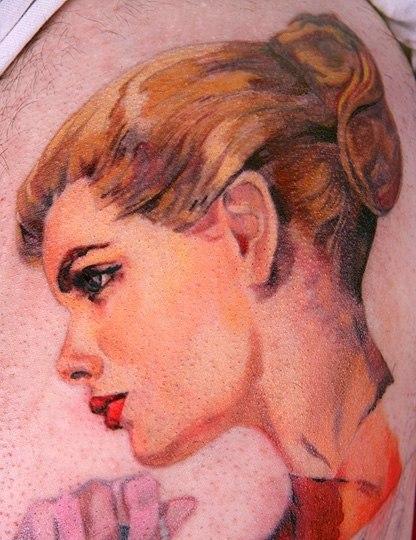 Татуировки акварелью (7)