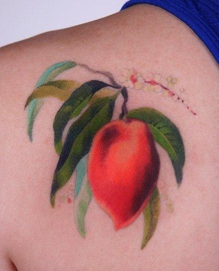 Татуировки акварелью (3)