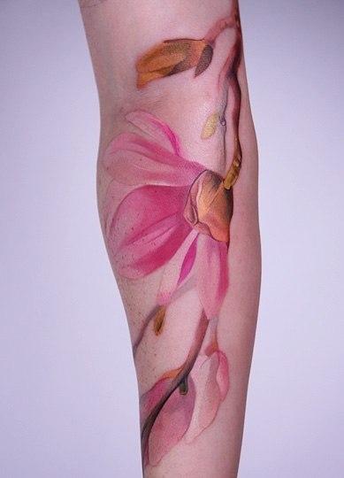 Татуировки акварелью (1)