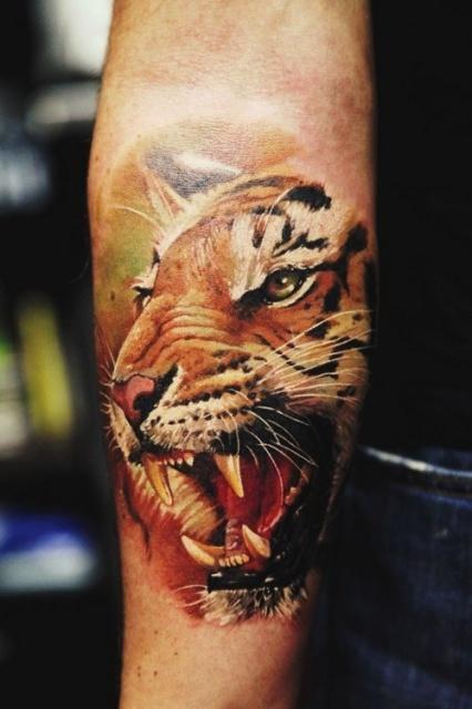 Тату тигра (1)