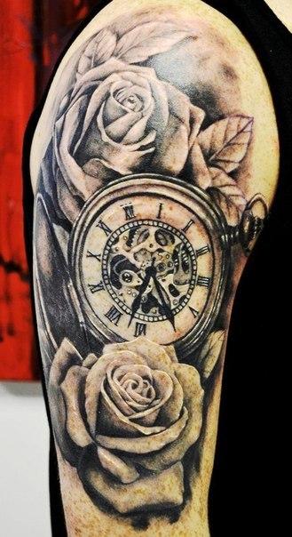 тату часы (4)