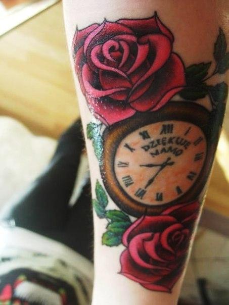 тату часы (2)