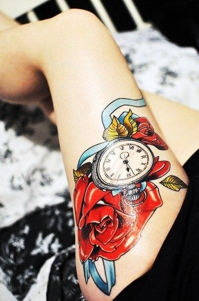 тату часы (1)