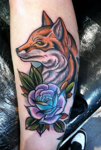 татуировки животные (2)
