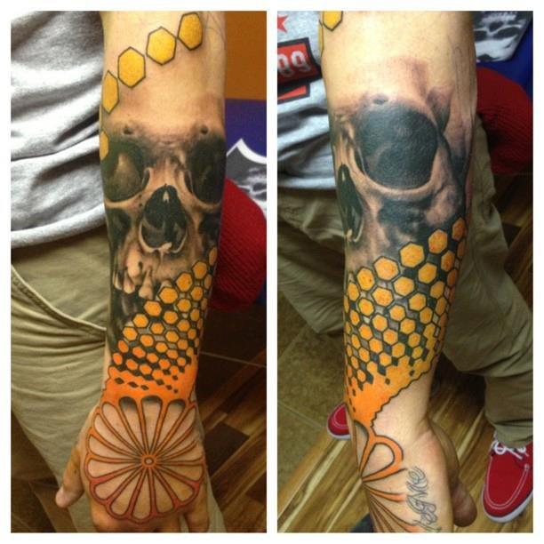 череп татуировки (12)