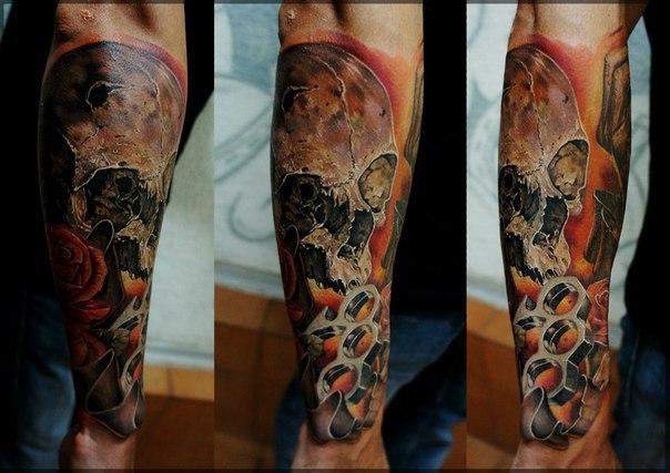 череп татуировки (8)