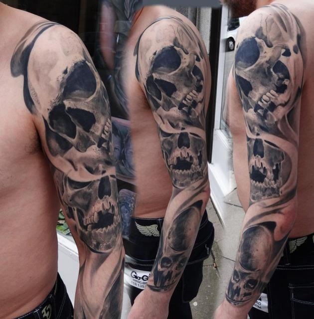 череп татуировки (4)