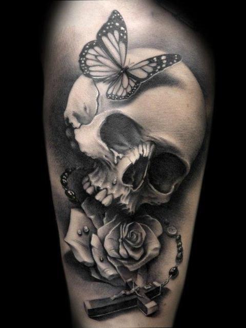 череп татуировки (2)