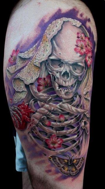 череп татуировки (18)
