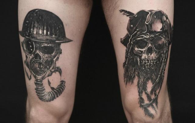 череп татуировки (16)