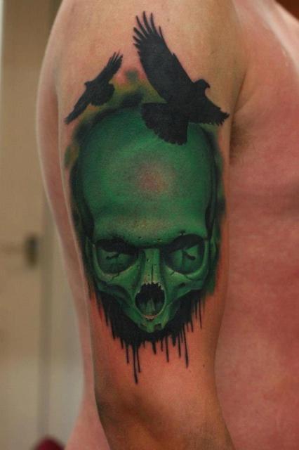 череп татуировки (15)