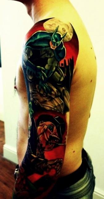 комиксы татуировки (13)