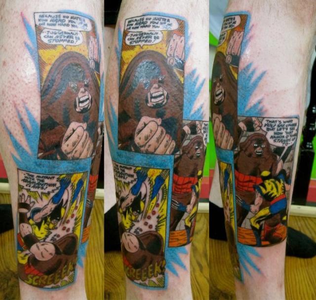 комиксы татуировки (7)